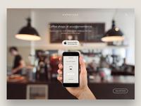 Ordering App Homepage