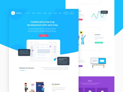 Education Platform Website
