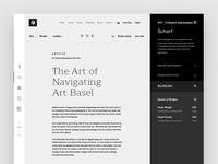Font Landing Page