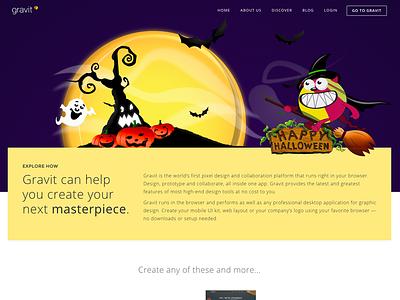 Halloween Theme for Gravit gravit scary gravil spooky halloween