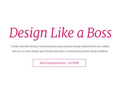 Design Like a Boss art create platform gravit design