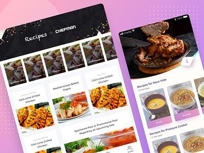 Chefman Mobile Apps app food cooking iphone ipad