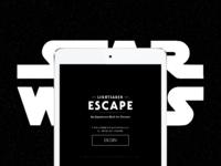 Star Wars Lightsaber Escape