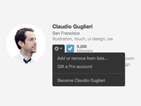 New Dribbble Feature
