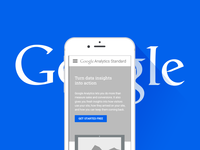 Google Mobile Landing Page Wireframe