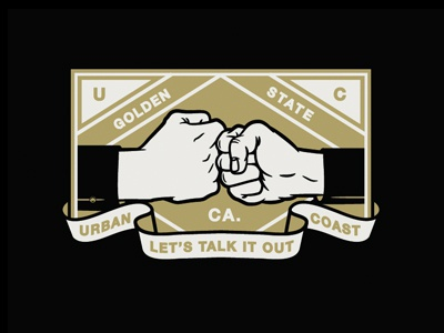 Talk It Out V. II hands prayer gangster rap cross rosary tattoo lockup badge