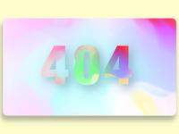 404 Page Nº 008