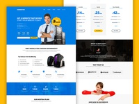 NeedHosting Website Template - Free PSD