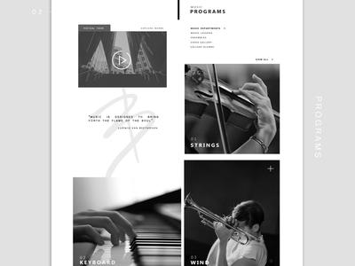 BURNS | Website concept
