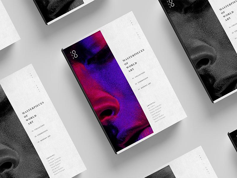 Infinity exhibitions identity gallery art edition brand branding graphicdesign logo design