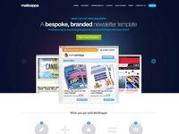 Mailzappa Website Design
