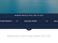 Booking Menu
