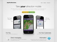 AppsForAttractions Homepage