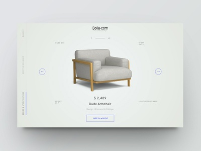 Product showcase vol.2 ecommerce furniture design minimal clean website web ui product