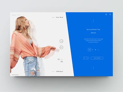 Lay some fashion out! shop clean minimal design web ux ui e commerce fashion
