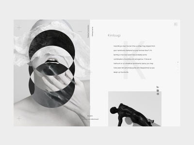 Color grey minimal clean layout web ui ux type typography black and white