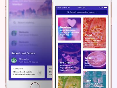 Categories & Repeat Orders mobile order mobile modal modal lightbox order mobile categories categories
