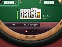 Kapalı Türk Pokeri (Five Card Poker)