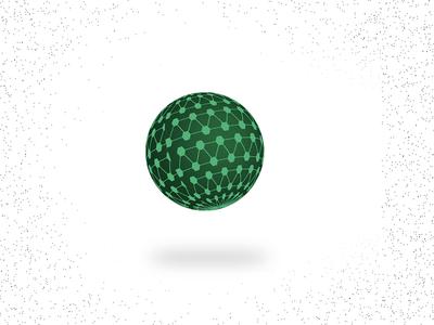Spherical Shape - illustrator