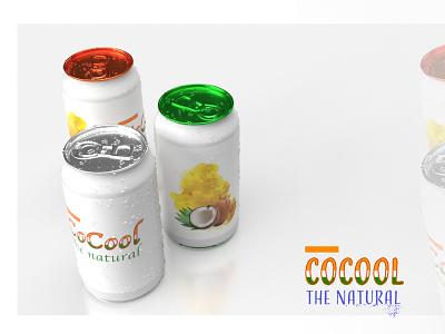 CoCool Branding  3 adobe dimension design branding