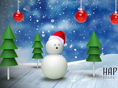 Xmas toy adobe photoshop adobe dimension design christmas