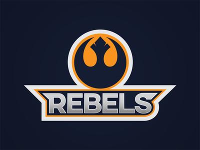 Rebels Sports Badge