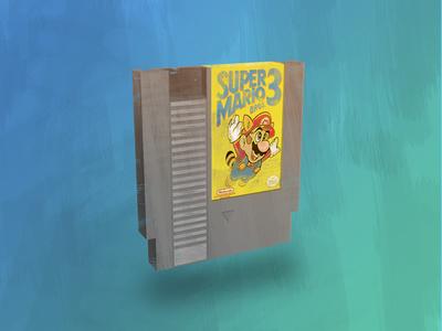 Super Mario 3 Cartridge
