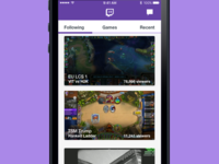 Twitch Redesign WIP