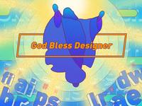 Ironic series one - God bless designer