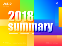 2018 summary design
