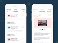 Exploration - E-Commerce App UI