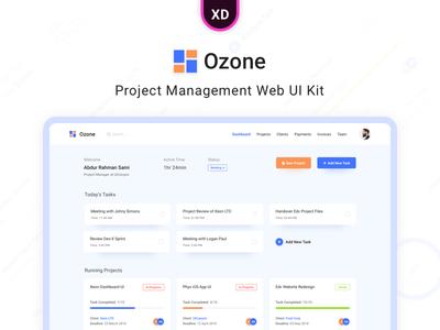 Ozone - Project Management Web UI Kit