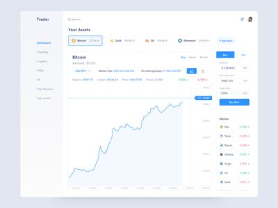 Tradex - Trading Dashboard