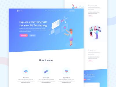Renetor - AR Website