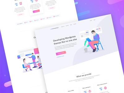 Homepage - Design Agency Website