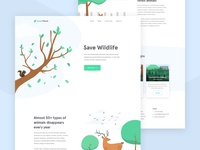 Greenplanet - Campaign Homepage
