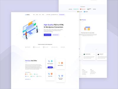 Convetros - Design Agency Homepage