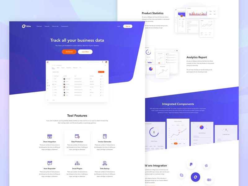 Homepage-B2B Product Website