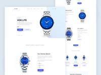 Exploration - WatchBox Homepage