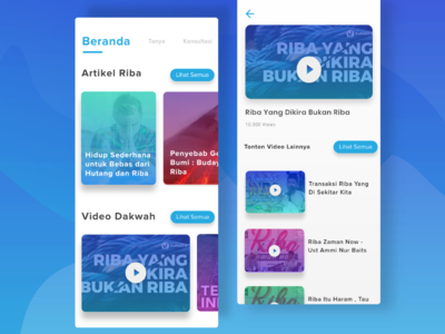 Exploration | Ribapedia UI Design