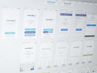 UX Wireframe for new Project