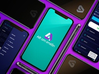 Mobile first web site design and logo design.