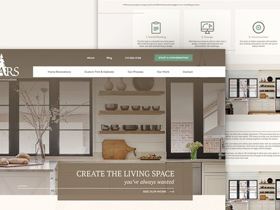 Custom Woodworking Website Design