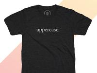 uppercase tshirt design