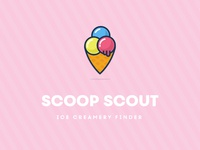 Scoop scout pink