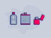 ILLUSTRATION | Supernatural Survival Kit