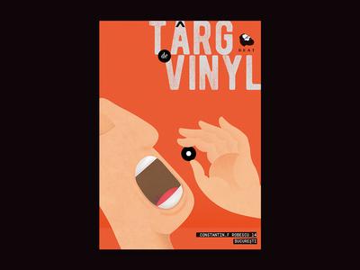 Poster Design for a Record Fair