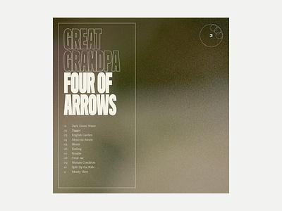 3. Great Grandpa - Four of Arrows series grit album art album music typography art texture