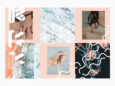 Portfolio –Moodboard wip portfolio logo branding moodboard visualdesign ui