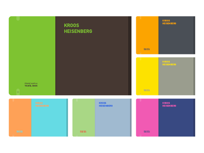 Travel Notebook Colors colors notebook